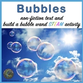 Bubbles Nonfiction Text and STEM Challenge for Primary Grades