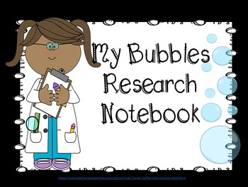 Bubbles Research notebook