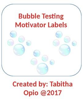 Bubbles Test Movtivator Labels