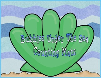 Bubbles Under The Sea Counting Mats