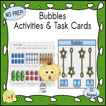 Bubbles Worksheets Activities Games Printables and More