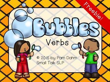 Bubbles Verbs Freebie