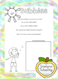 Bubbles Worksheet