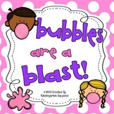 Bubbles are a Blast!  End of School Theme Days!