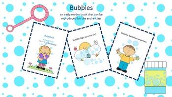 Bubbles (early reader reproducible book)