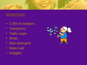 Bubbles lab