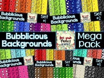 Bubblicious Backgrounds {MEGA Pack}