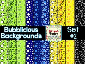 Bubblicious Backgrounds {Set #2}