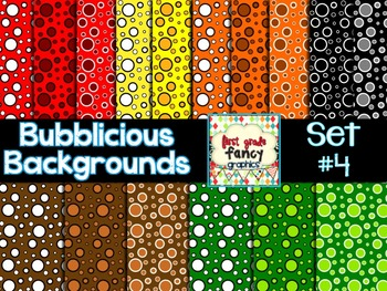 Bubblicious Backgrounds {Set #4}