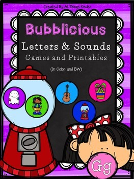 Bubblicious Letters and Sounds