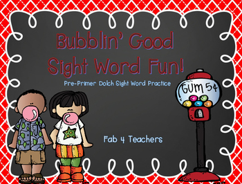Sight Words ~ Bubblin' Good Sight Word Fun!