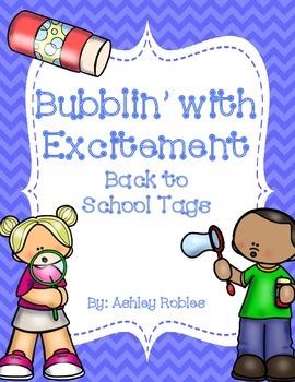 Bubbling With Excitement to Meet You Tags