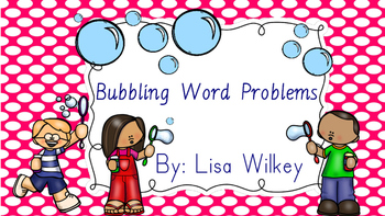 Bubbling Word Problems