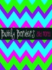 Bubbly Bright Chevron Digital Backgrounds