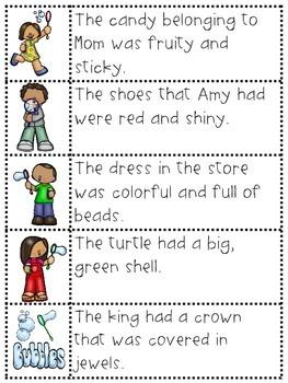 Bubbly Fun with Possessive Nouns