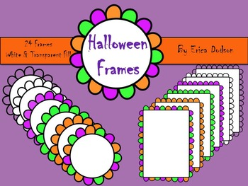Bubbly Halloween Frames