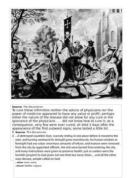 Bubonic Plague- History Mystery