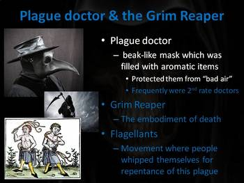 Bubonic Plague PowerPoint Lesson (with writing activity)