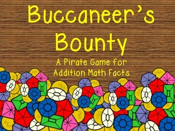Buccaneer's Bounty A Pirate Game for Addition Math Facts