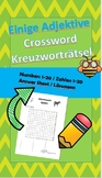 Buchstabensalat - Adjektive / Word search -