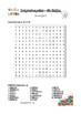 Buchstabensalat - die Zahlen