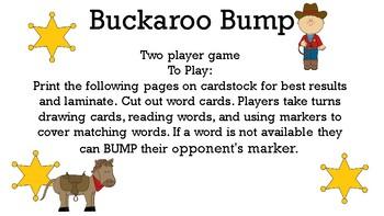 Buckaroo Bump 28