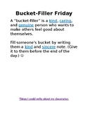 Bucket Compliment Activity