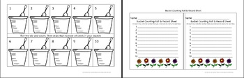 Bucket Counting Mats for Early Learners