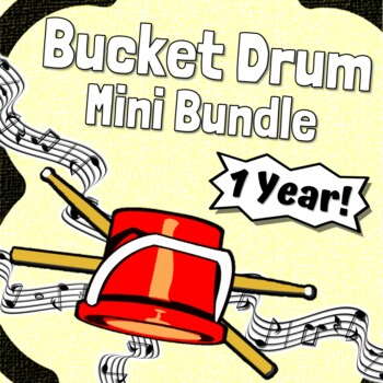 Bucket Drum Karate ~KIDS~ Rhythm Notation Studies For Young Learners