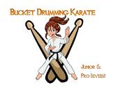 Bucket Drumming Karate w Play Along Tracks