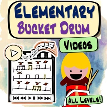 Bucket Drumming Karate ~MINI~ Rhythm Notation Studies For Elementary Music