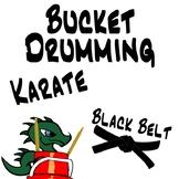 Bucket Drumming Karate - Black Belt - Motivating Rhythm Notation Studies
