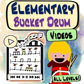Bucket Drum Karate - Grades 3 - 5 ~MINI~