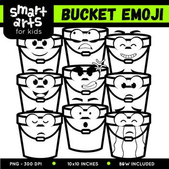 Bucket Emoji Clip Art