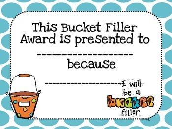 Bucket Filler!