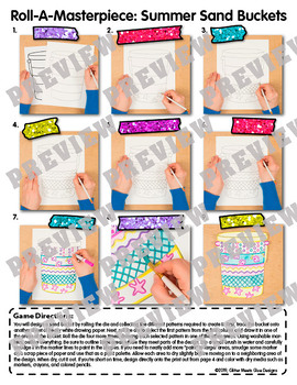 Bucket Filler Activity: Design a Sand Bucket Game, Sub Plans, & Writing Prompts