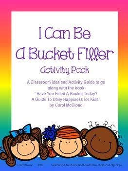 Bucket Filler Activity Pack