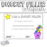 Bucket Filler Award