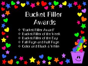Bucket Filler Awards