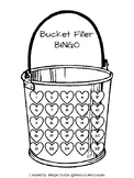 Bucket Filler BINGO Reinforcement Chart