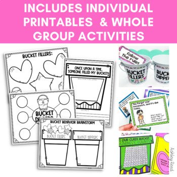 Bucket Filler Activities
