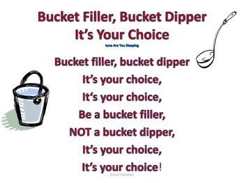 Bucket Filler, Bucket Dipper (It's Your Choice)