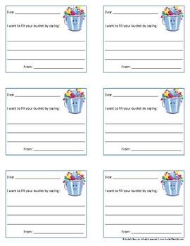 Bucket Filler - Bucketfilling Notes #1 - Color