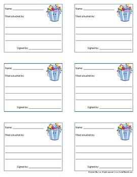 Bucket Filler - Bucketfilling Notes #2 - Color