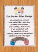 Bucket Filler Bundle (Activities, Bulletin Board, Class Pledge, Awards, Tags)