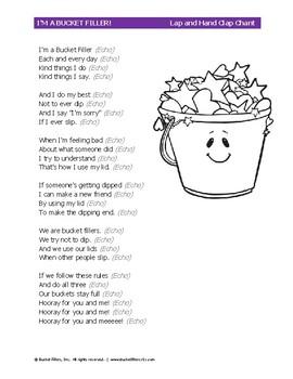 Bucket Filler - Chant