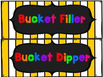 Bucket Filler! {Classroom Activities}