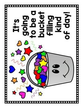 NEW!!! Bucket Filler School/Classroom Poster  Pack