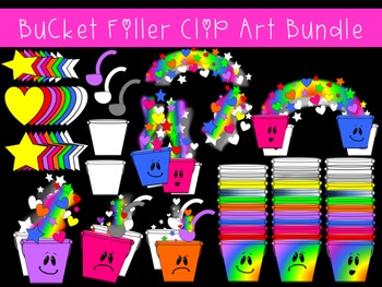 Bucket Filler Clip Art Bundle