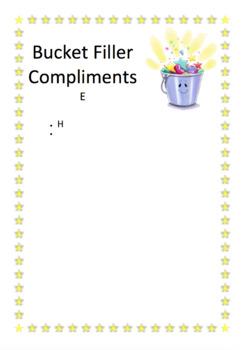 Bucket Filler Compliments